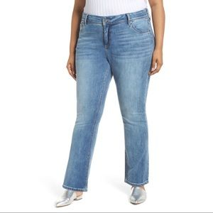 Kut from the Kloth Greta Ankle Bootcut Jeans